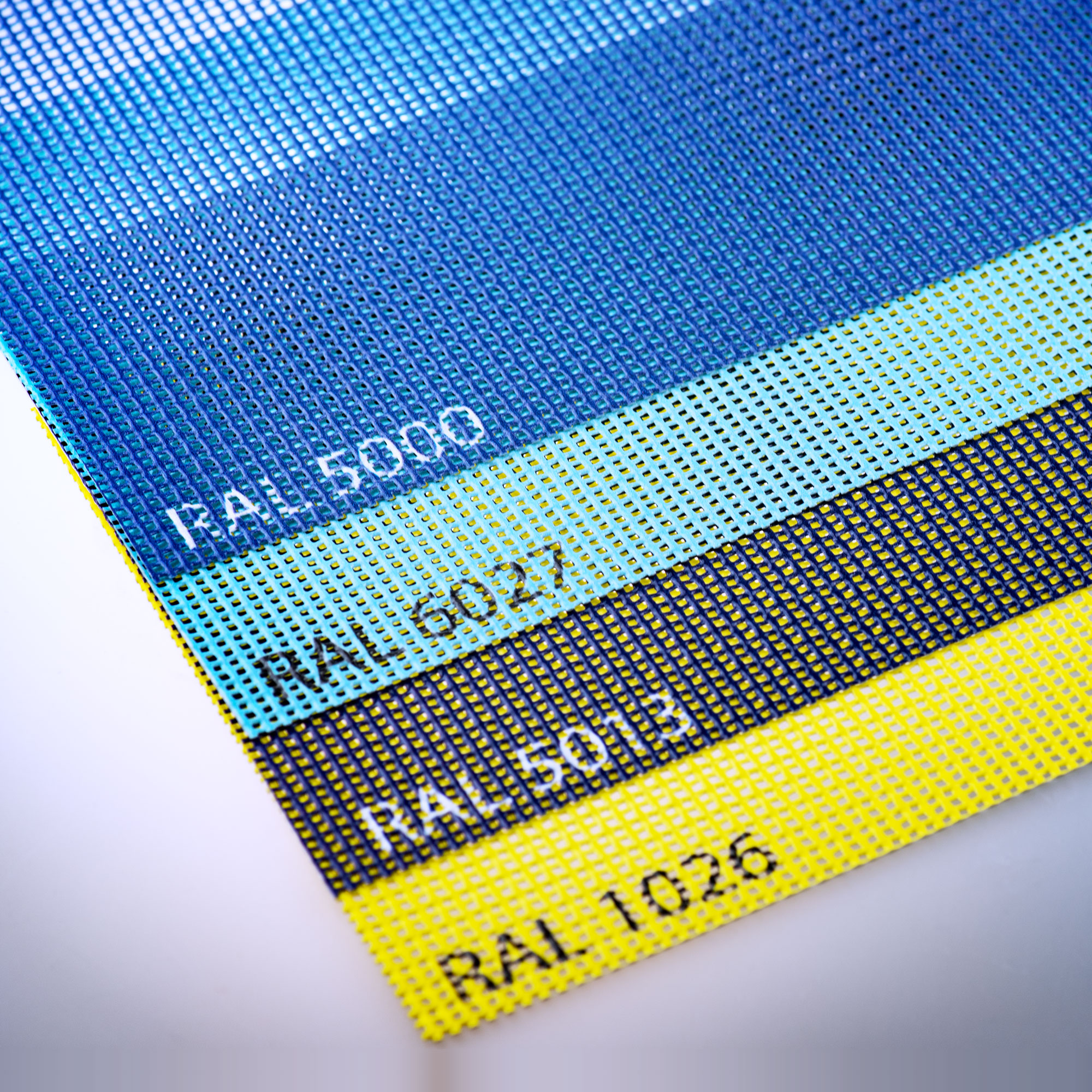 photograph relating to Printable Substrates known as Materials released inside strong (RAL) colours - Printable